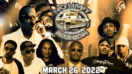 groupon.com - No Limit Reunion Tour feat. Master P, Mystikal, Silkk the Shocker, and More on Saturday, March 26, 2022 at 7:30 p.m.