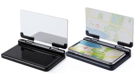 1 o 2 pantallas HUD con proyección para smartphone
