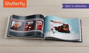 Shutterfly: 8x8, 8x11, or 10x10 Custom Photo Book from Shutterfly (Up to 67% Off )