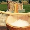 Spa con maestro di sauna e menu trentino
