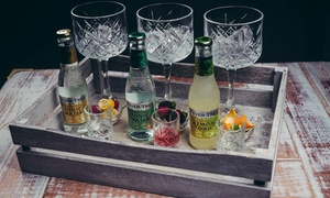 One59 Bar & Social: Three or Six Gins with Three or Six Mixers at One59 Bar & Social (Up to 54% Off)