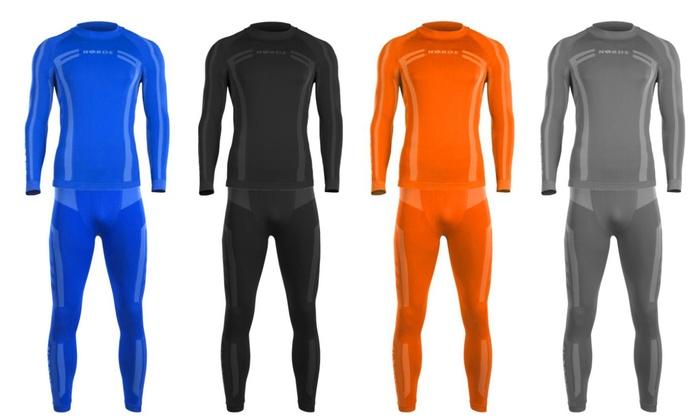 Groupon Goods Global GmbH: Ensemble sous-vêtements thermiques pour homme et femme, tailles et coloris aux choix, dès 29,98€ (jusqu'à - 71%)