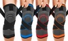 DCF Compression Knee Sleeve with Adjustable Straps (1-Pair)