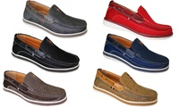 Deals on Frenchic Collections Men's Slip On Loafers Shoes