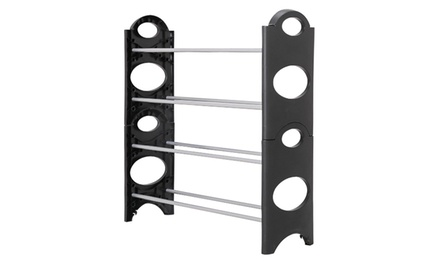 Tiered Shoe Rack Organizer. Multiple Sizes Available.