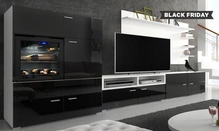 olympo kaminset für das wohnzimmer in weiß oder schwarz inkl, Gestaltungsideen