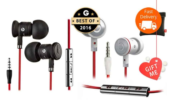 $49 urBeats by Dr. Dre In-Ear Headphones in Black or White