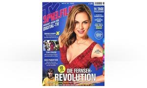 Eventus Media GmbH: Halbjahres-Abo (13 Ausgaben) der Zeitschrift TV SPIELFILM frei Haus (84% sparen*)