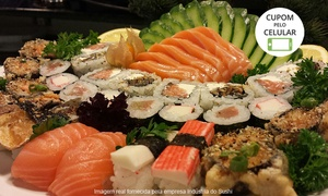 Indústria do Sushi: Indústria do Sushi – Centro: combinado de 30 ou 60 peças