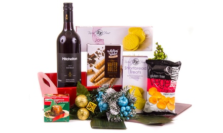 Free Shipping: From $39 to $99 for Gift Packaged Christmas Hampers with Wine and Goodies (Don't Pay up to $140)
