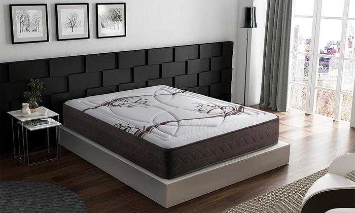 jusqu 39 66 matelas m moire de forme duomo groupon. Black Bedroom Furniture Sets. Home Design Ideas