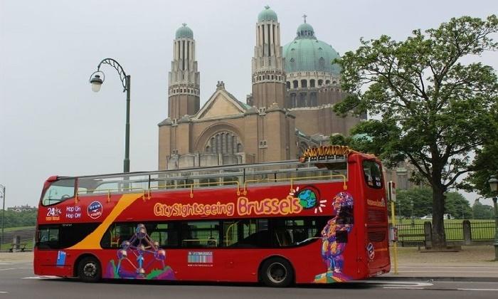 Bruxelles : 1, 2, 4 ou 6 tickets valables 24h dés 7€ avec «City Sightseeing Brussels» pour adultes ou enfants