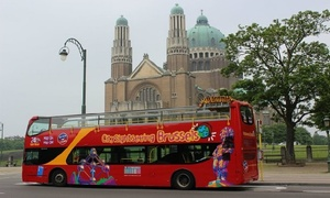 City Sightseeing Brussels: Bruxelles : 1, 2, 4 ou 6 tickets valables 24h dés 7€ avec «City Sightseeing Brussels» pour adultes ou enfants