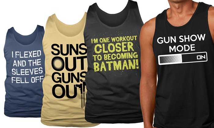 Men's Graphic Tank Tops