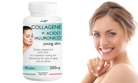 30, 60, 90, 120, 180 o 360 comprimidos complementos alimenticios con colágeno y ácido hialurónico Lineadiet