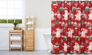 Holiday Bath Shower Curtains