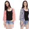 Women's Striped Summer Cardigan
