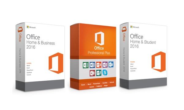 Microsoft Office 2016 Per 1 Dispositivo A Scelta Tra Windows Pc O Mac Disponibile In 3 Versioni