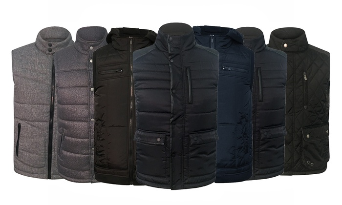 Repair Quilted Vest for Men