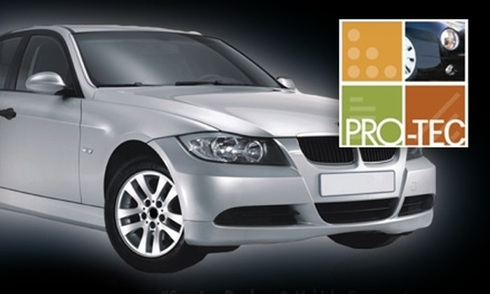 Pro-Tec - East Broad: $59 for a Winterize Your Vehicle Detail Package at The Downey Company Pro-Tec ($139.99 Value)