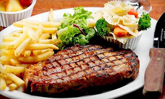 Spinnaker Steak and Seafood - San Buenaventura (Ventura): $15 for $30 Worth of Seafood, Steaks, and Drinks at Spinnaker Steak and Seafood