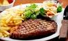 Half Off Seafood & Steaks at Spinnaker Steak and Seafood