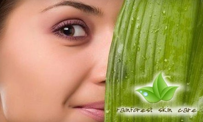 Rainforest Skin Care - Grand Lake: Enhanced LED Facial Treatments from Rainforest Skin Care in Oakland. Two Options Available.