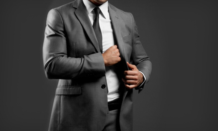 Custom Men - Midtown: Super 150s Suit or Zegna Suit with Dress Shirt Options Available at Custom Men (Up to 61% Off)
