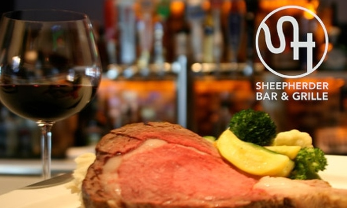 Sheepherder Bar & Grille - Mather: $15 for $30 Worth of Eats at Sheepherder Bar and Grille