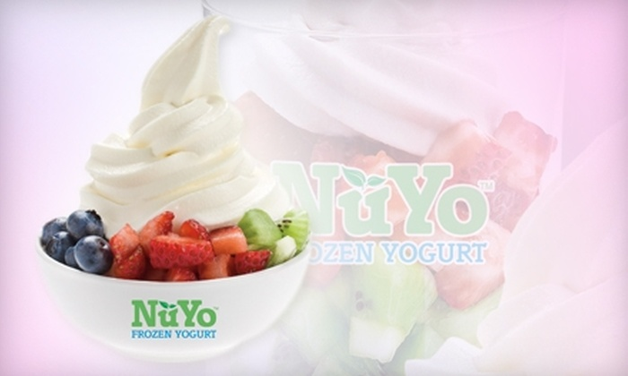 NuYo Frozen Yogurt - Multiple Locations: $5 for $10 Worth of Frozen Treats at NuYo Frozen Yogurt in Chula Vista