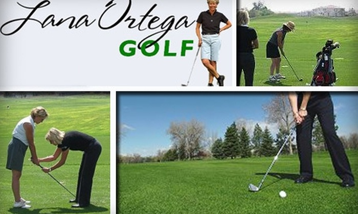 Lana Ortega Golf - Green Valley Ranch: $65 for a 45-Minute Private Golf Lesson at Lana Ortega Golf