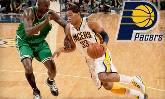One Indiana Pacers Ticket Plus a Sling Bag. Choose from Four Games and Three Seating Options.