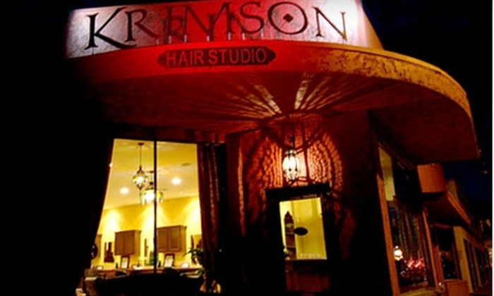 Krimson Hair Studio - Burbank: Salon Services at Krimson Hair Studio in Burbank. Choose from Four Options.