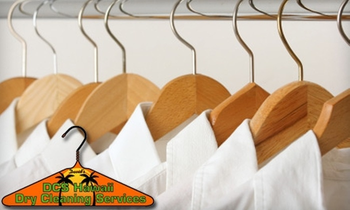 David's Dry Cleaning Services - Honolulu: $20 for $40 Worth of Dry Cleaning and Laundry at David's Dry Cleaning Services