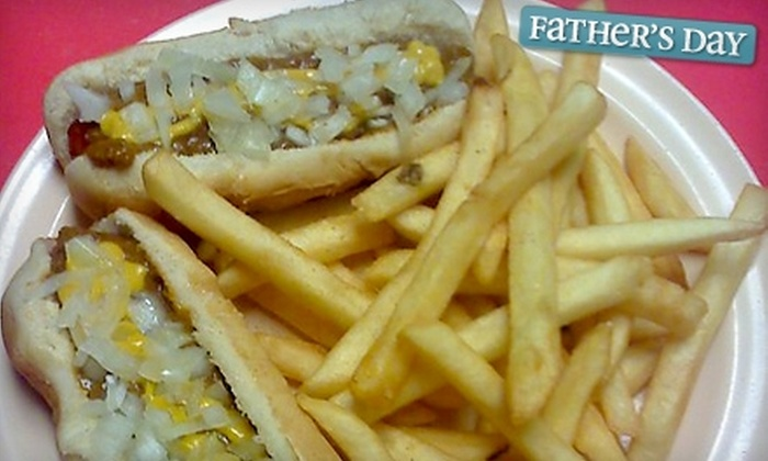 Motor City Coney Island - Mountain Park: $7 for $15 Worth of Hot Dogs, Chili, and Snacks at Motor City Coney Island in Stone Mountain