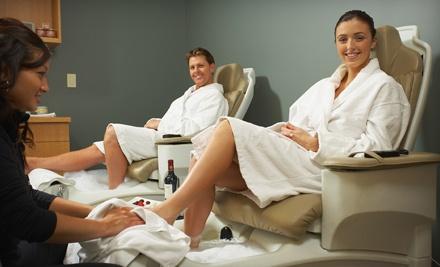 Spa-Chair Manicure and Pedicure (a $40 value) - La Royale Nails & Pedispa  in Sugar Land
