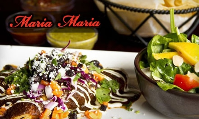 Maria Maria - Downtown: $10 for $20 Worth of Mexican Brunch or Lunch at Maria Maria