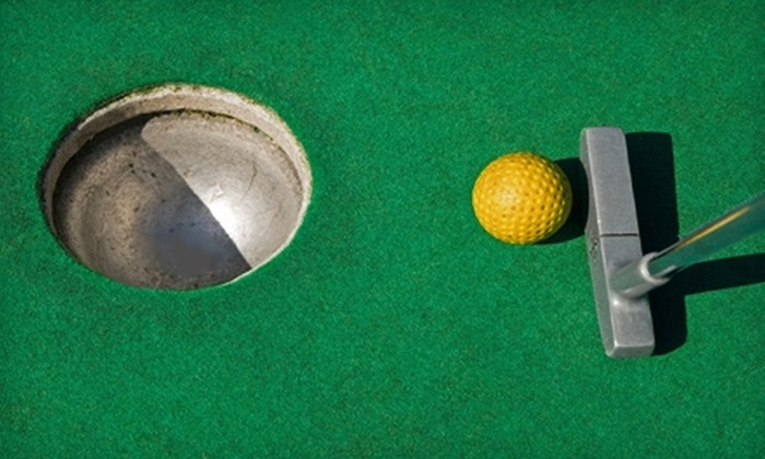 Falls Park Golf & Games - West End: $6 for Two Tickets for a Round of Indoor Mini Golf at Falls Park Golf & Games ($12 Value)