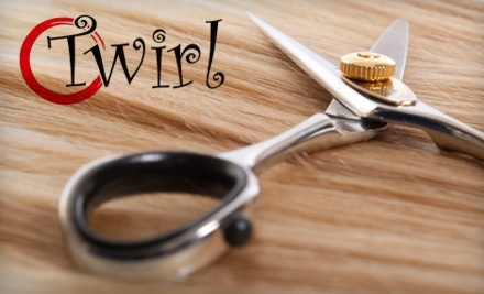 $40 Groupon to Twirl Hair Studio - Twirl Hair Studio in Smithfield