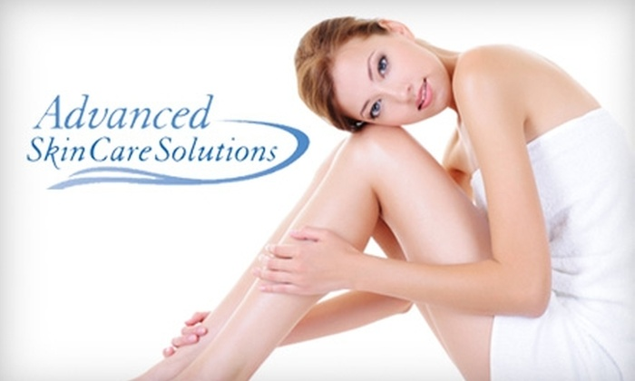 Advanced Skin Care Solutions - Sherwood: $99 for Three Laser Hair-Removal Treatments at Advanced Skin Care Solutions (Up to $425 Value)