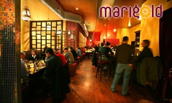 Marigold Restaurant - Uptown: $22 for a Three-Course Prix Fixe Meal for Two at Marigold Restaurant ($55 Value)