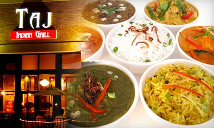Taj Indian Grill - St. Anthony: $10 for $20 Worth of Indian Cuisine and Drinks at Taj Indian Grill in St. Anthony