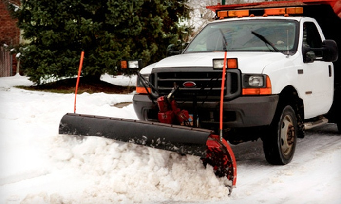 A Cut Above - Rockford: Two Snowplowing Services or Season of Snowplowing from A Cut Above (Half Off)