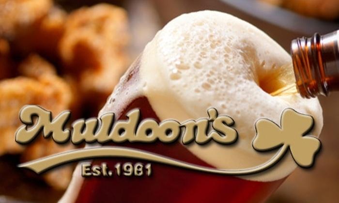 Muldoon's - Carmel: $15 for $30 Worth of Irish Pub Grub and Drinks at Muldoon's in Carmel