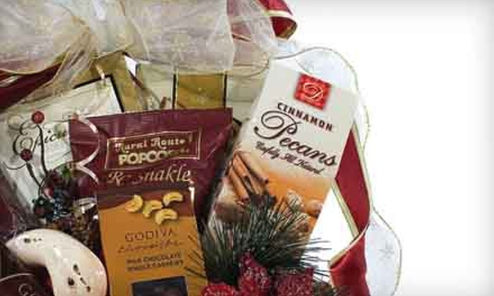 Executive Baskets - Great Uptown: Themed Gift Baskets from Executive Baskets (Half Off). Two Options Available.