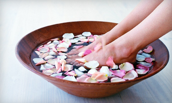 Agape Therapeutic Massage - Delano: $69 for a Spa Package with a 60-Minute Massage, Peppermint Foot Retreat, and Eye Treatment at Agape Therapeutic Massage ($155 Value)