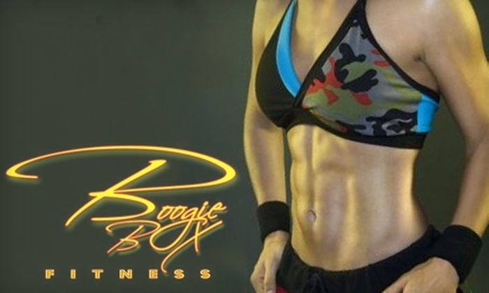 BBX, Inc. - Multiple Locations: $49 for a One-Month Unlimited Membership for Boogie Box Fitness Classes from BBX, Inc. ($160 Value)