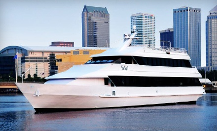 3-Course Dinner Cruise for 2 (a $181.90 value) - Yacht StarShip in Tampa