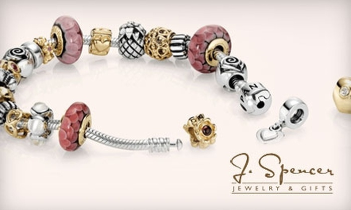 J. Spencer Jewelry & Gifts - Multiple Locations: $15 for $30 Worth of Stylish Designer Accessories at J. Spencer Jewelry & Gifts