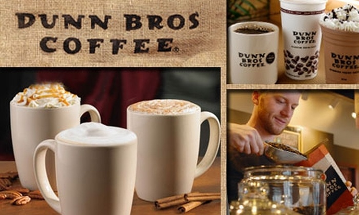 Dunn Bros Coffee - Multiple Locations: $8 for Up to $18 Worth of Fresh Coffees at Dunn Bros Coffee